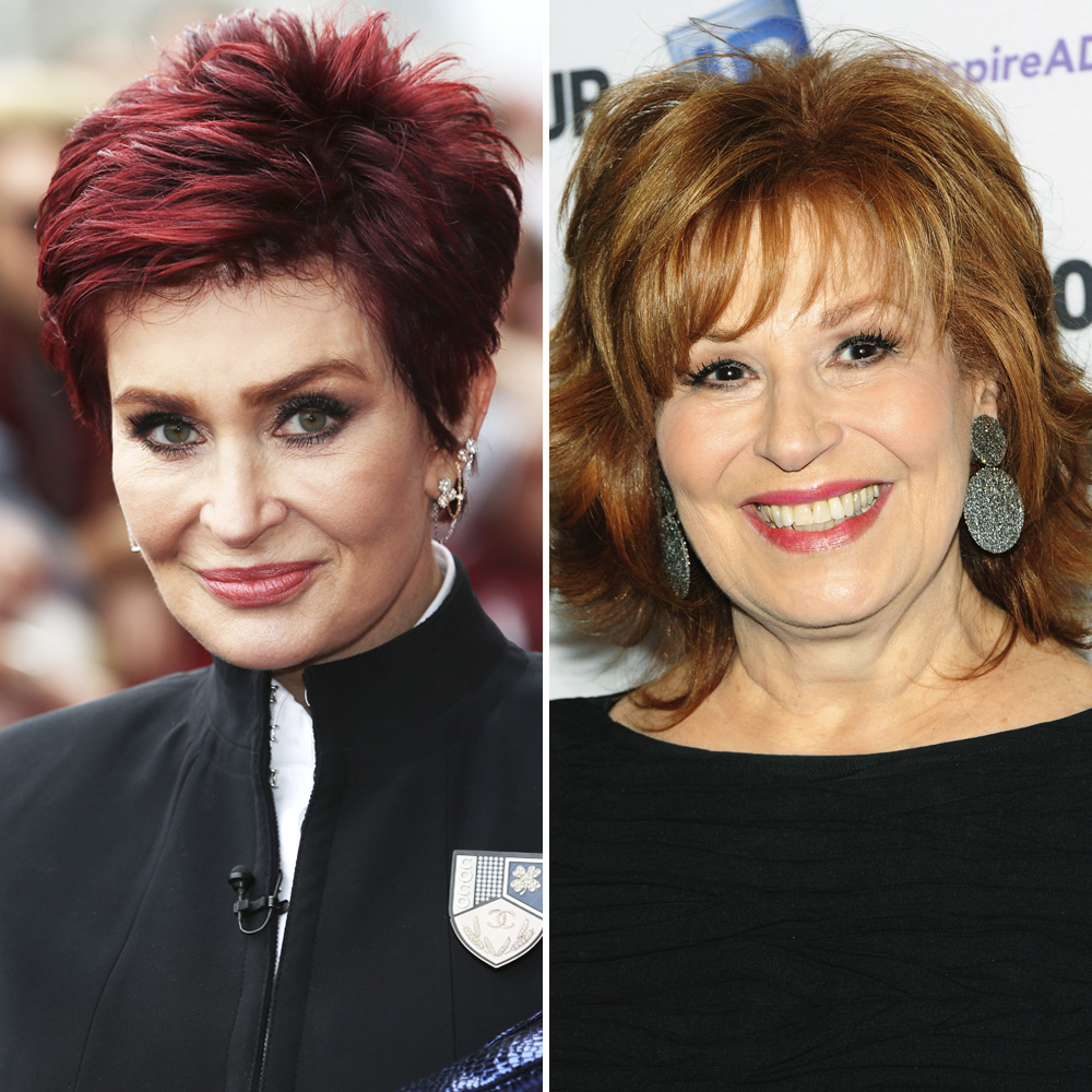 sharon osbourne joy behar getty images