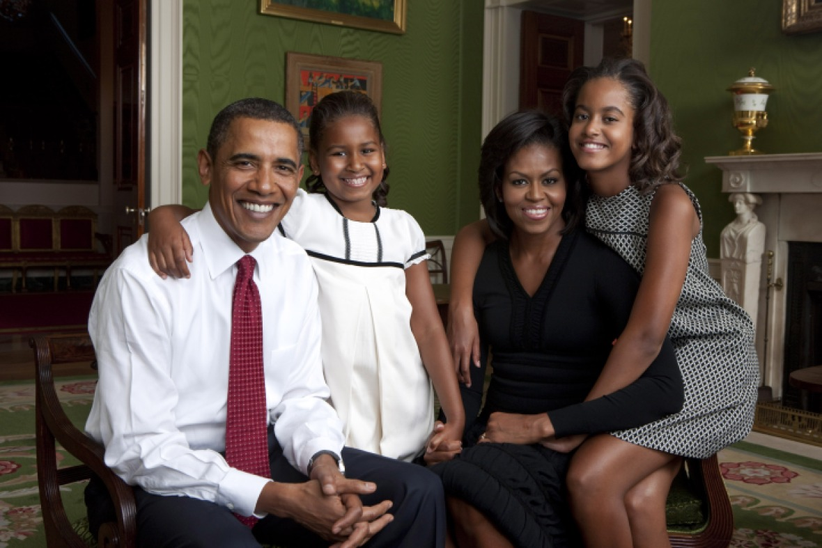 the obama family getty images
