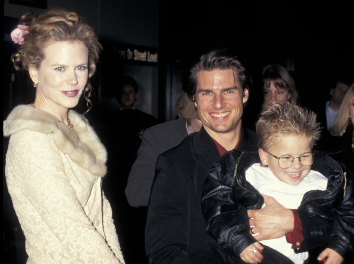 tom cruise jerry maguire premiere getty