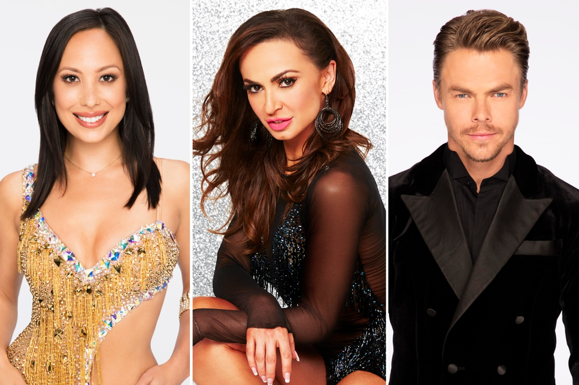 'dancing with the stars' pros getty images
