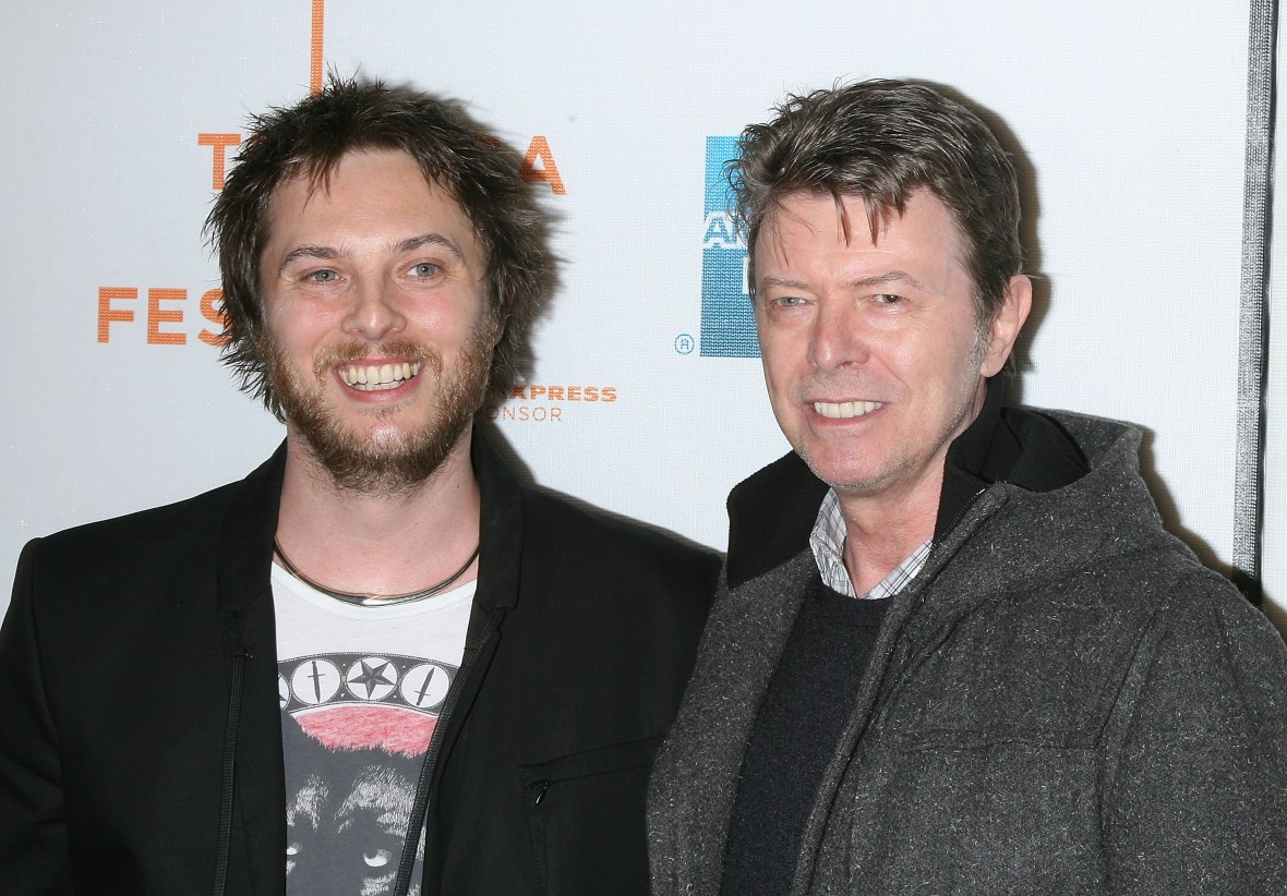 david bowie and duncan jones (getty images)