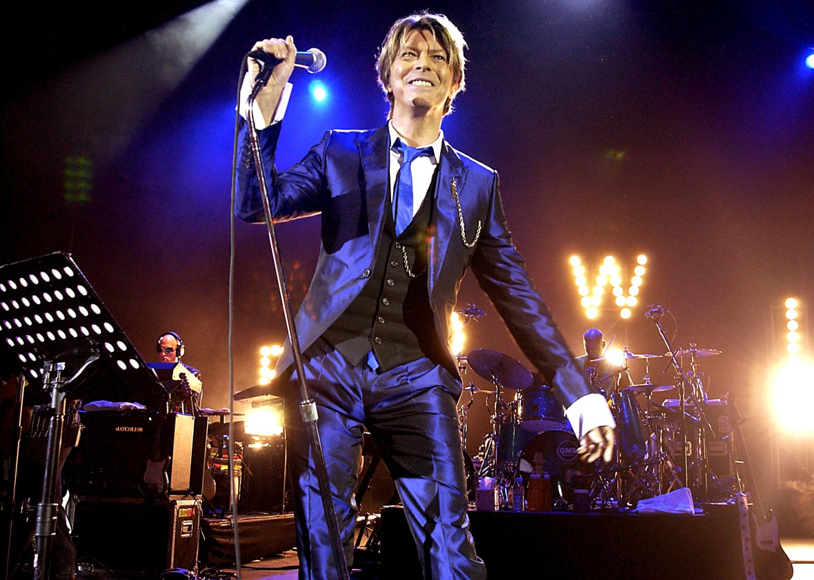 david bowie getty images