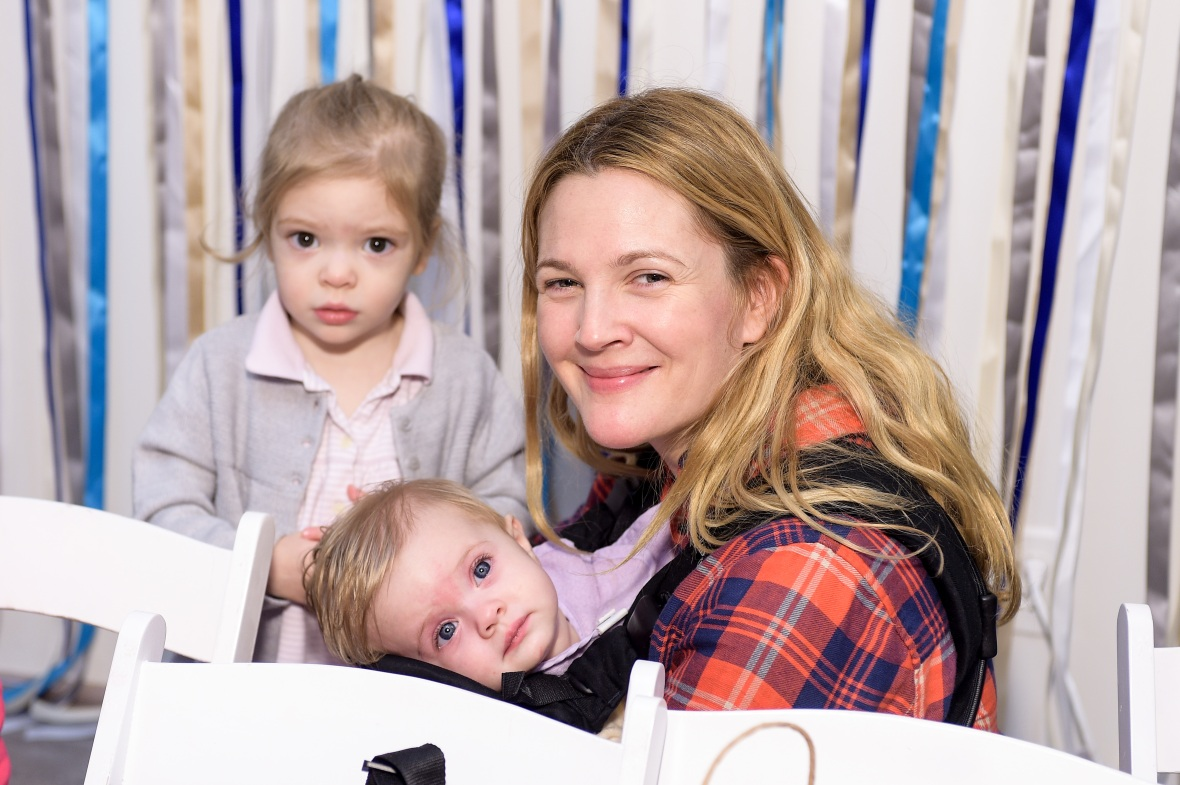 drew barrymore kids getty