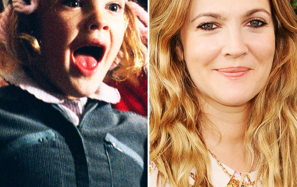 It S Drew Barrymore S Birthday See The Cast Of E T The Extra Terrestrial Then And Now