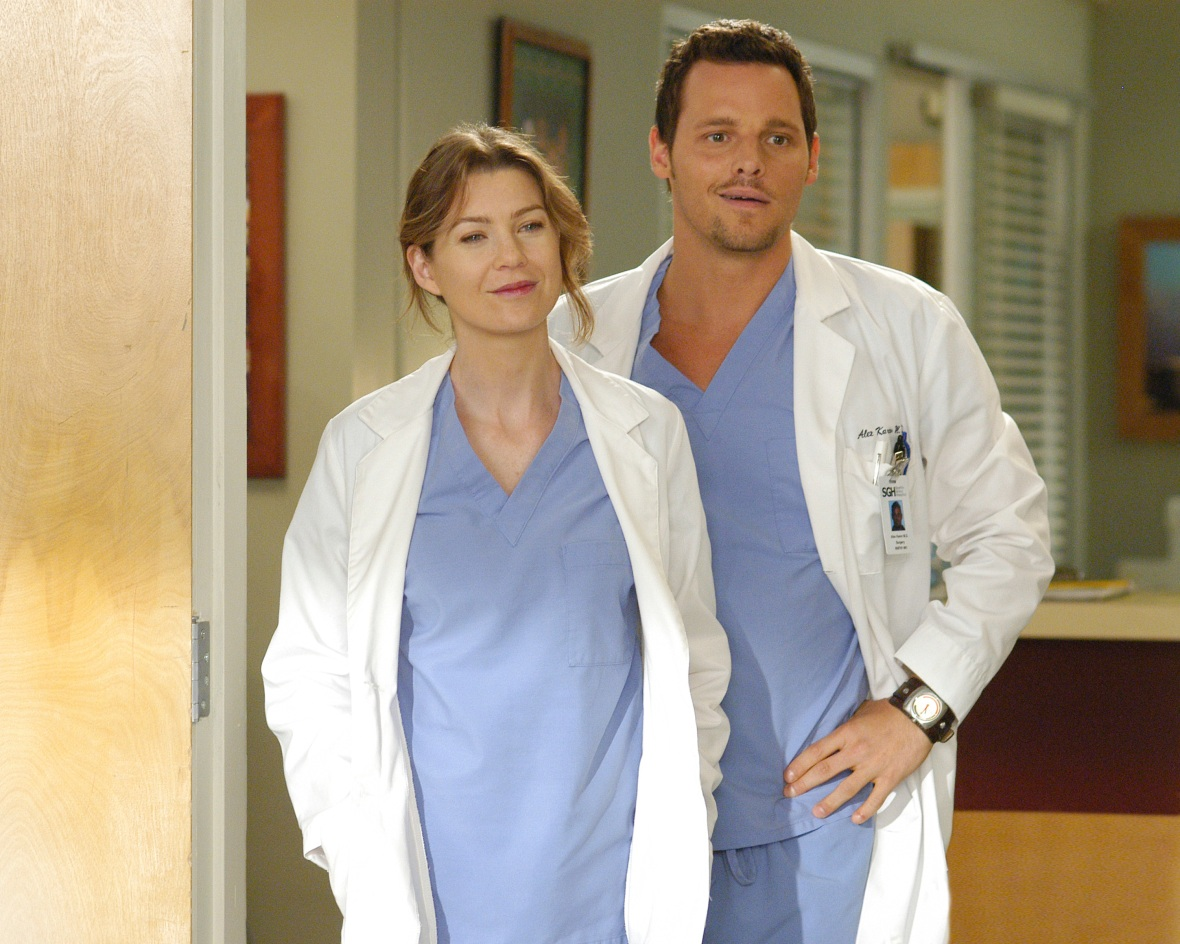 ellen pompeo justin chambers getty images