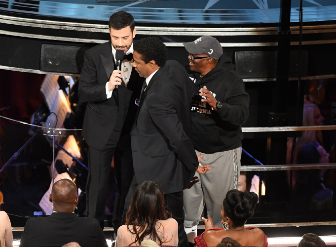 """""""gary from chicago"""" oscars getty images"""