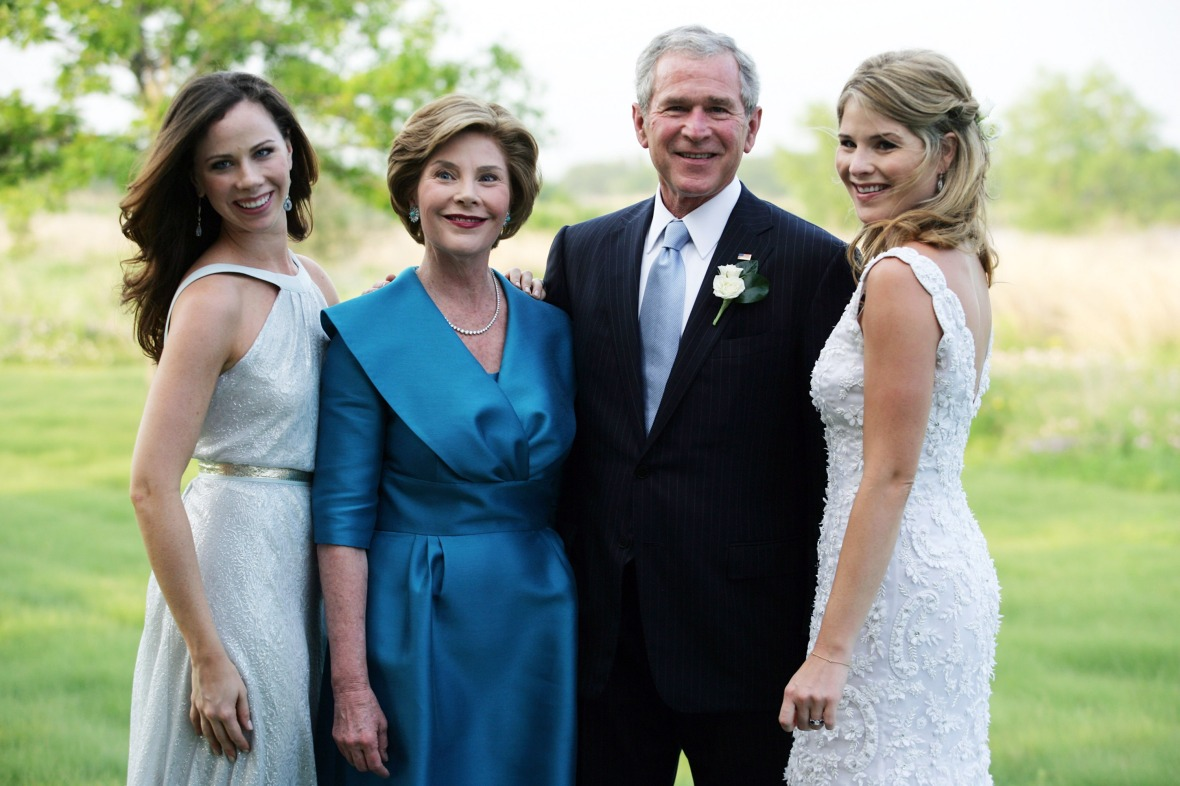 bush family getty images