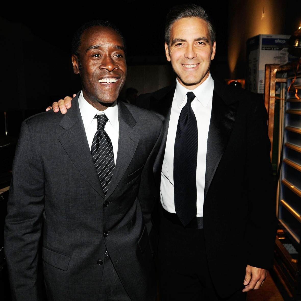 don cheadle george clooney getty images
