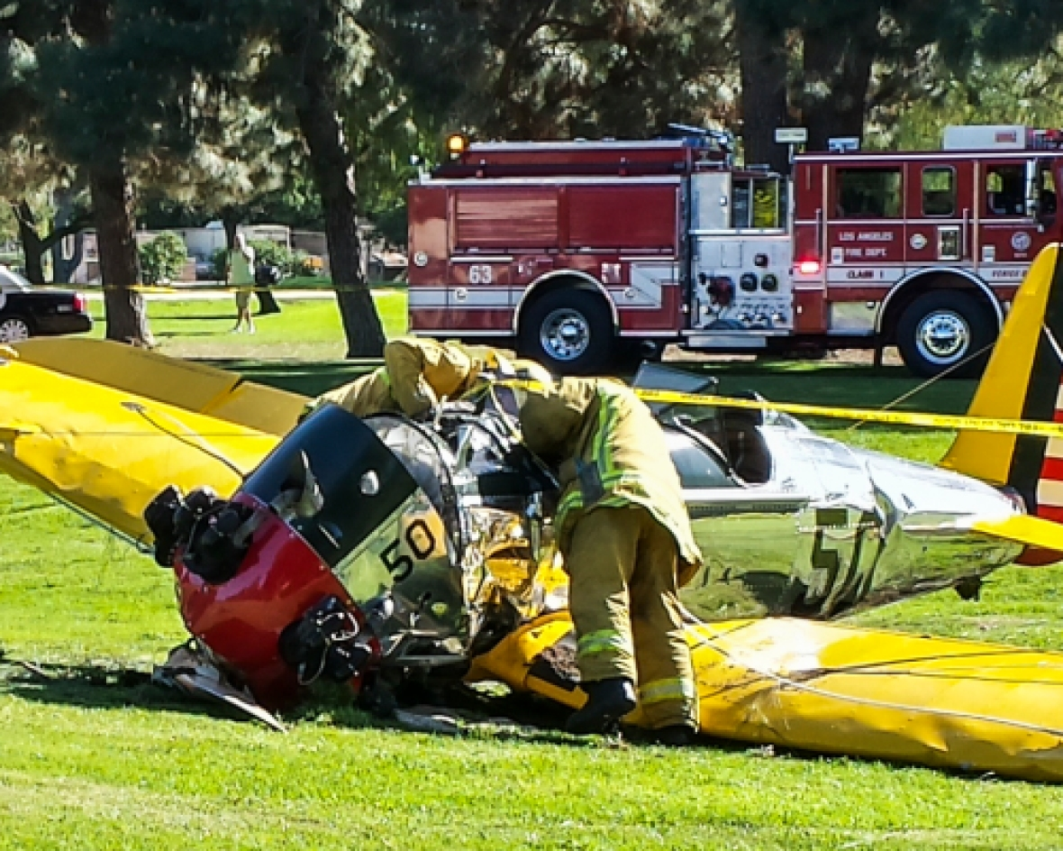 harrison ford plane getty images
