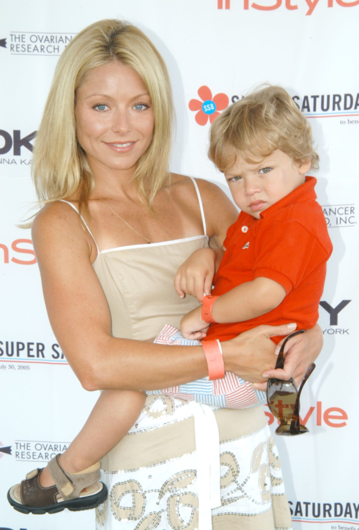 kelly ripa son getty images