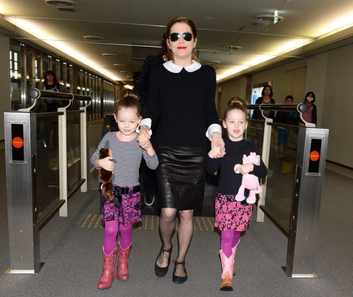 lisa marie presley daughters getty images