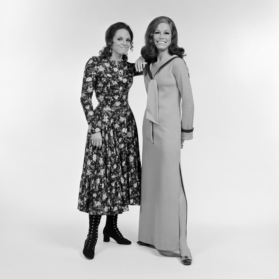mary tyler moore valerie harper getty images