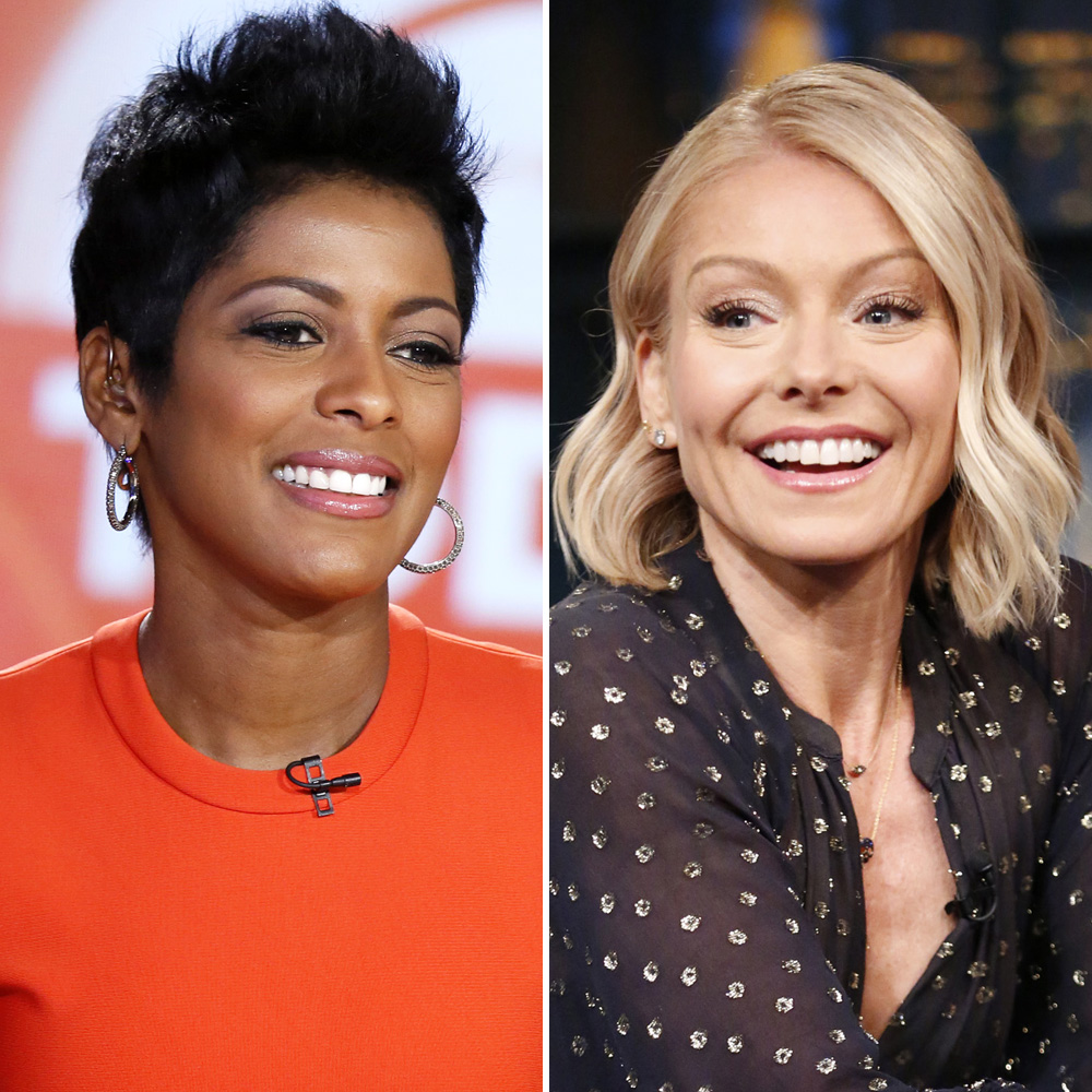 tamron hall kelly ripa getty images