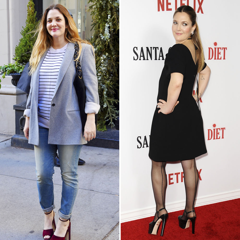drew barrymore weight loss getty images