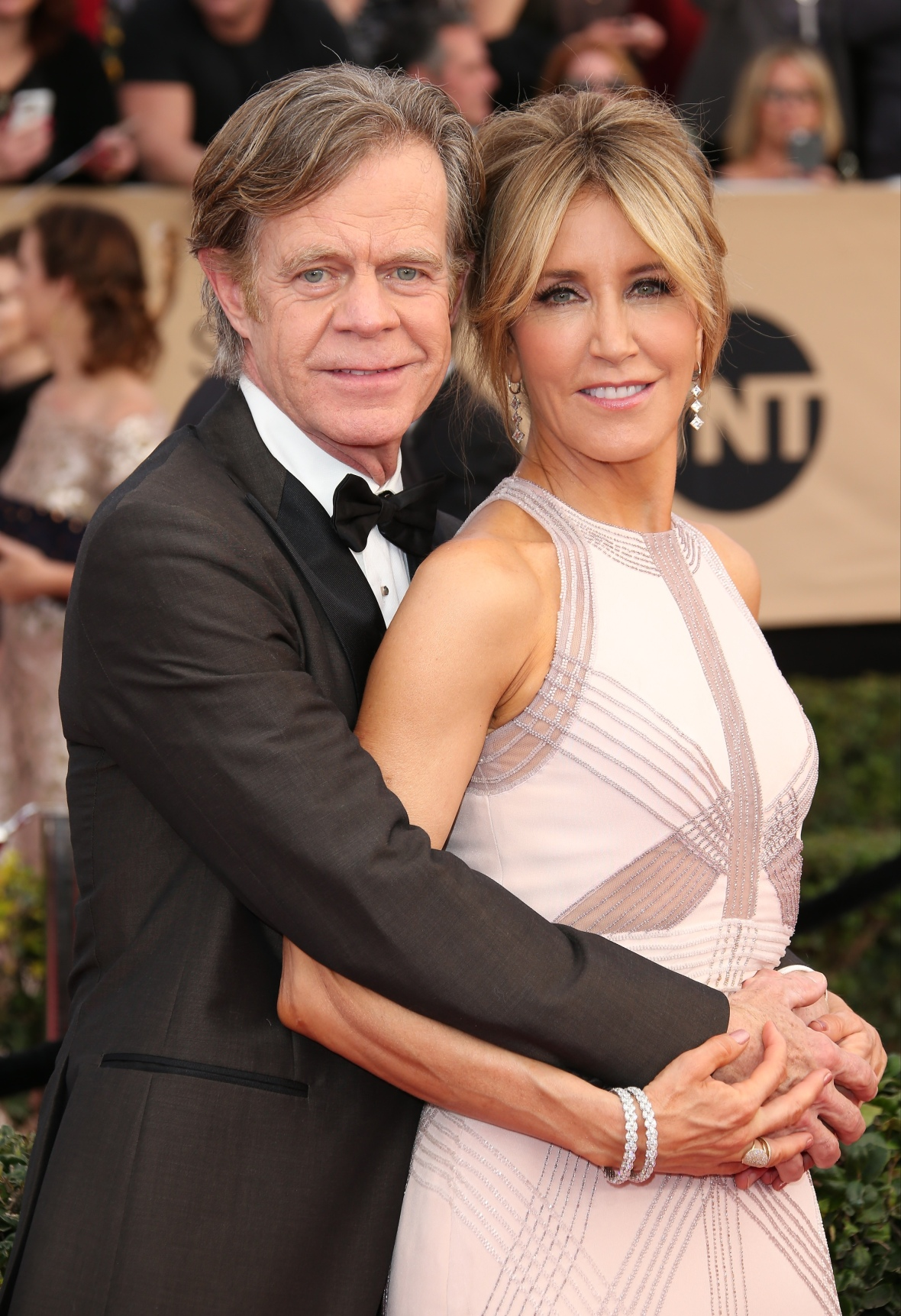 felicity huffman william h. macy getty images