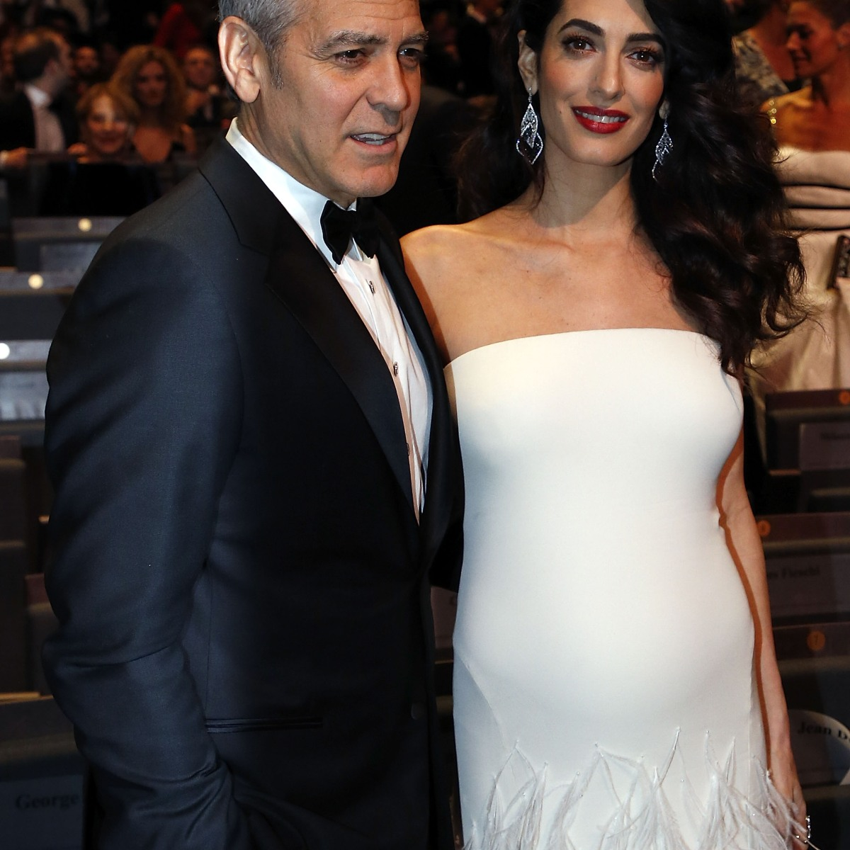 See All the Pictures of Pregnant Amal Clooney's Baby Bump