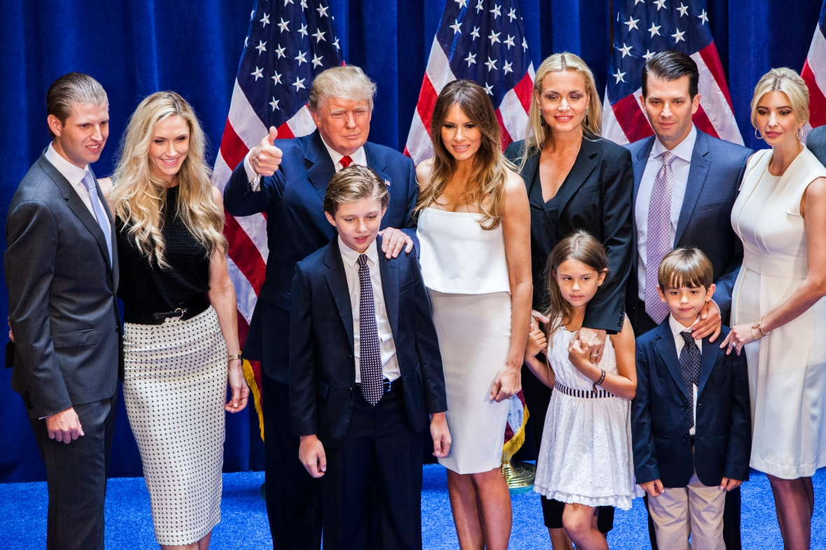 eric trump lara trump getty images