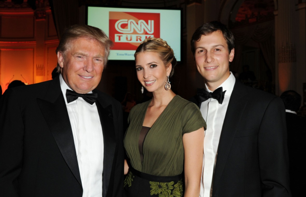 ivanka trump donald trump jared kushner getty images