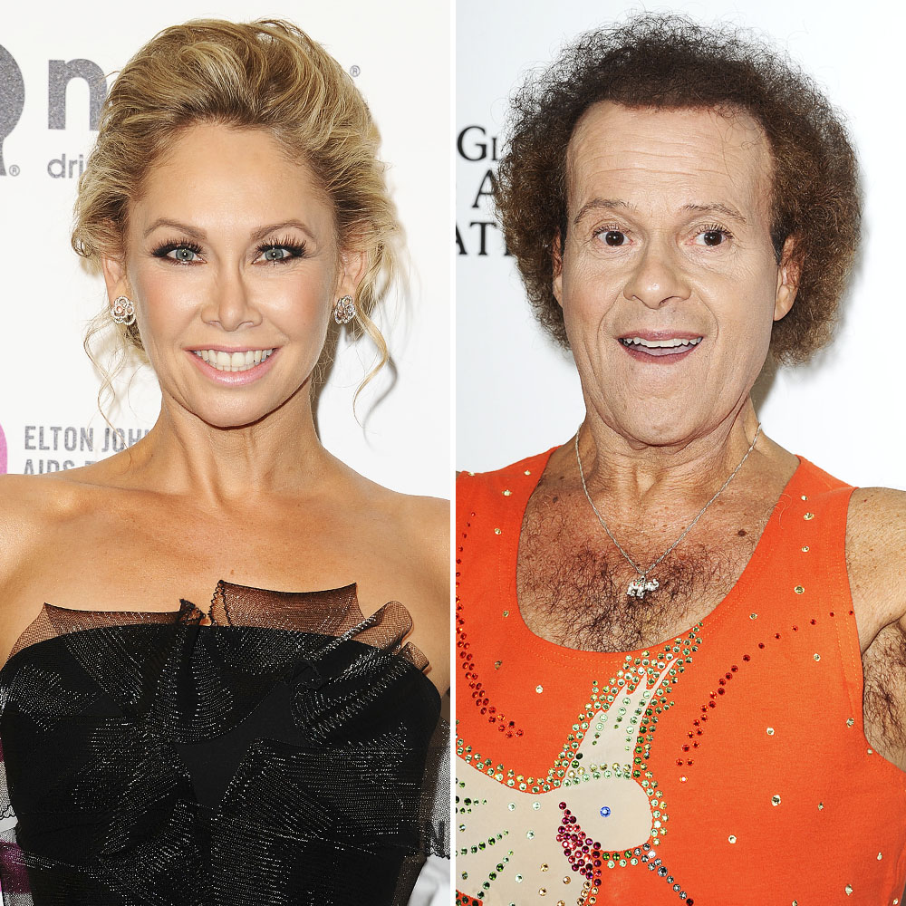 richard simmons kym johnson getty images