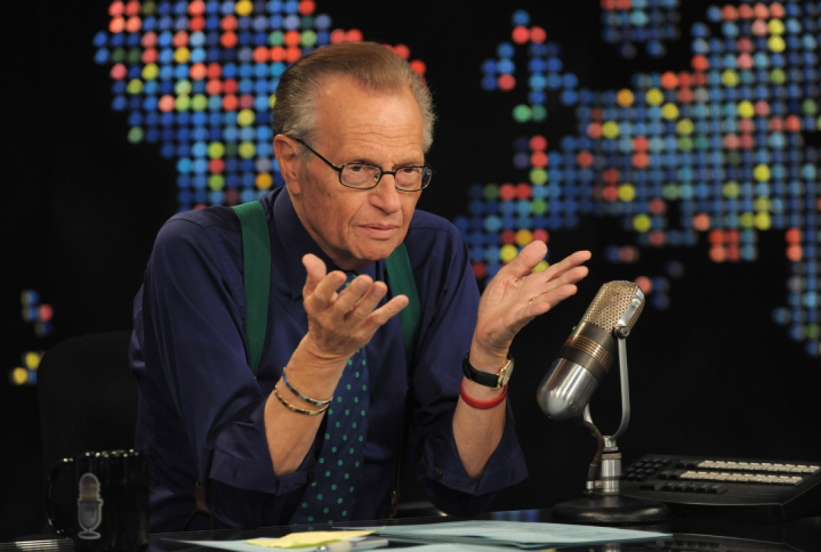 larry king getty images