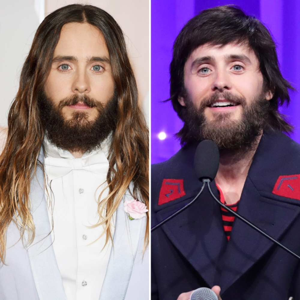 jared leto hair getty images