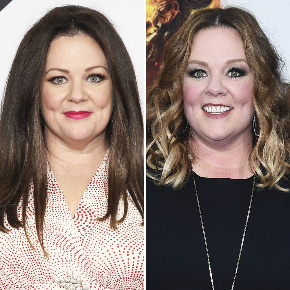 Melissa Mccarthy Debuts New Hair After Her Drastic Weight