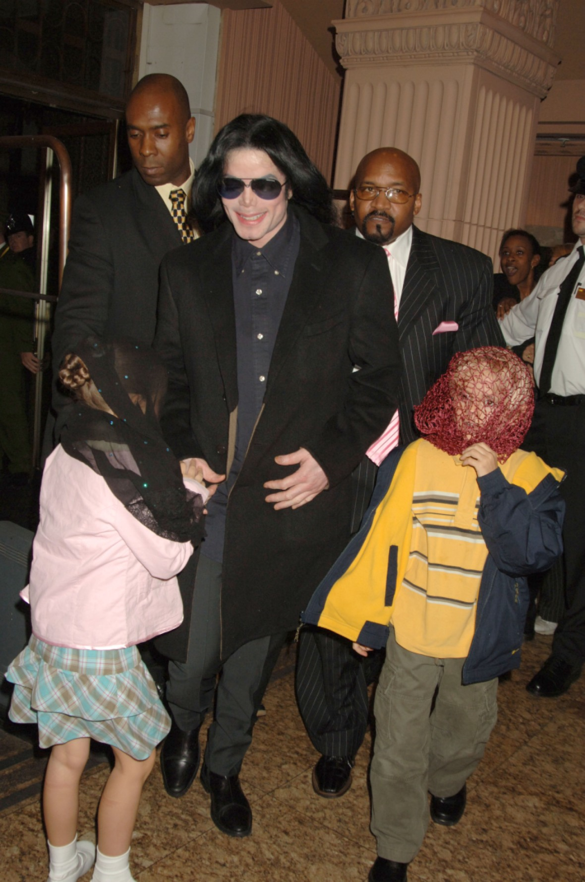 michael jackson kids getty images