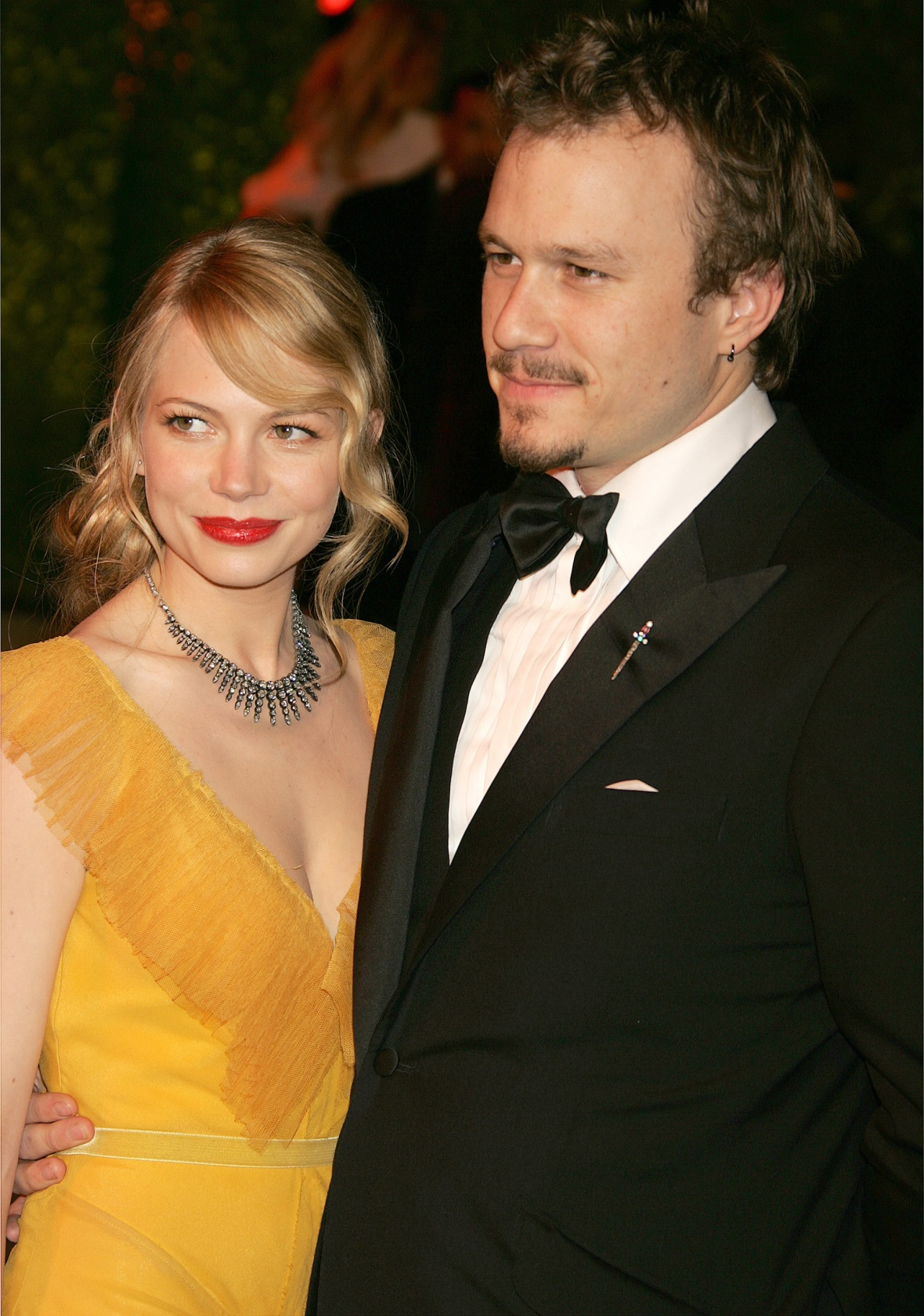 michelle williams heath ledger getty images