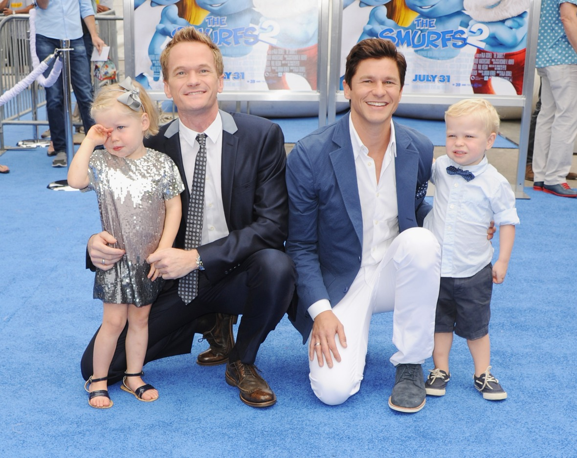 neil patrick harris david burtka family getty images
