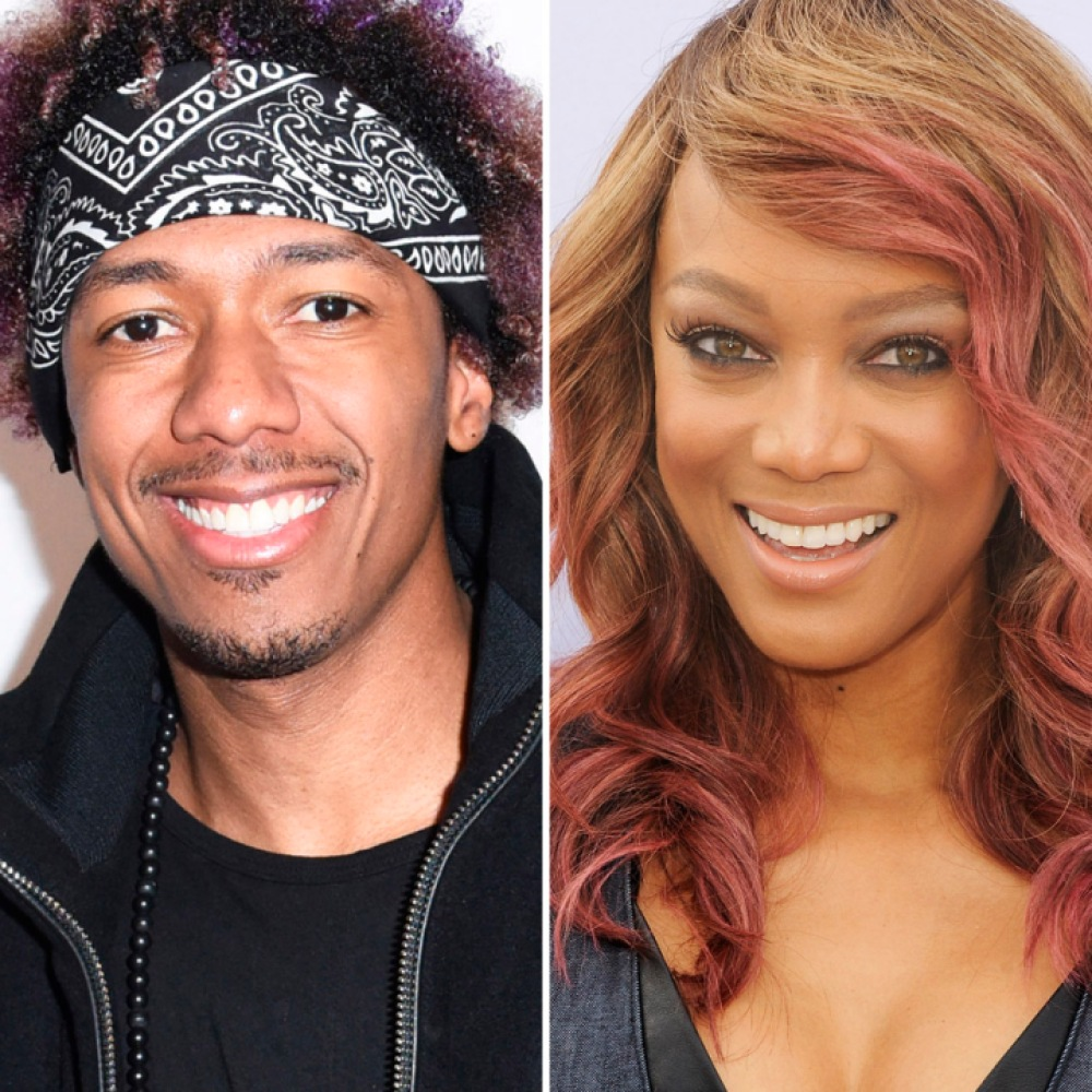nick cannon tyra banks getty images
