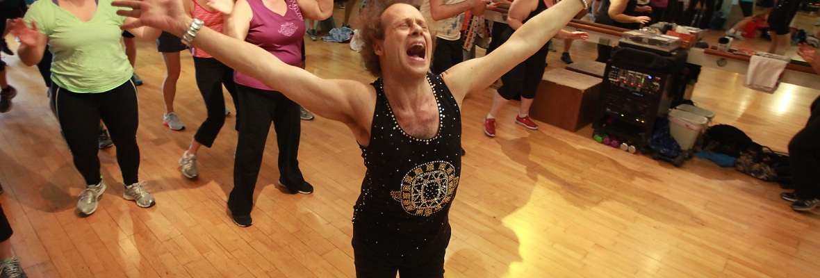 richard simmons getty images