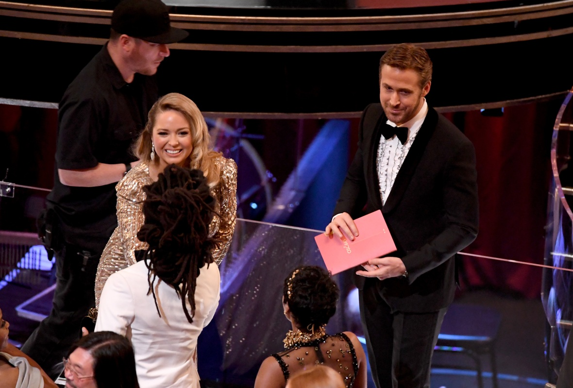 ryan gosling oscars getty images