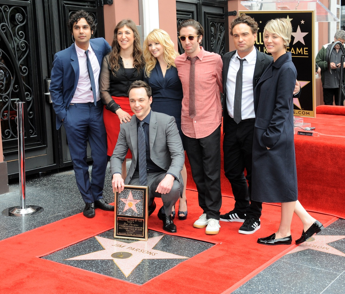'the big bang theory' cast getty images