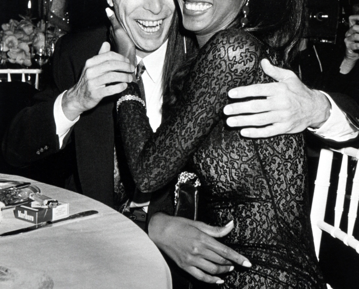 david bowie & iman getty