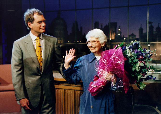 david letterman mother getty images