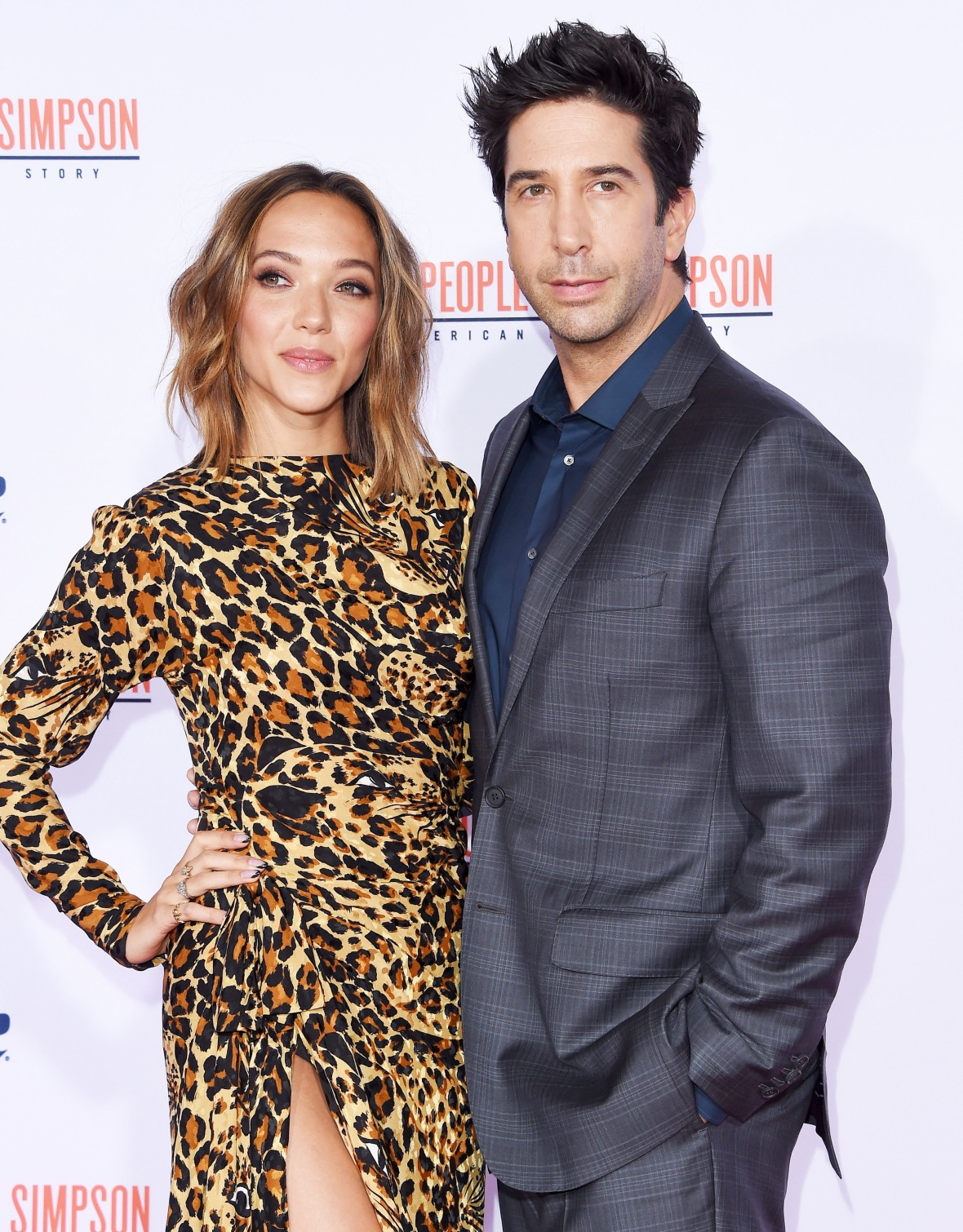 david schwimmer wife getty images