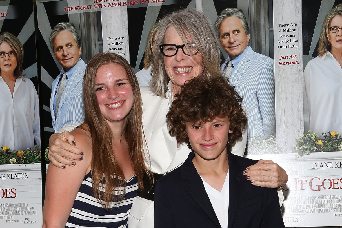 diane keaton kids getty images