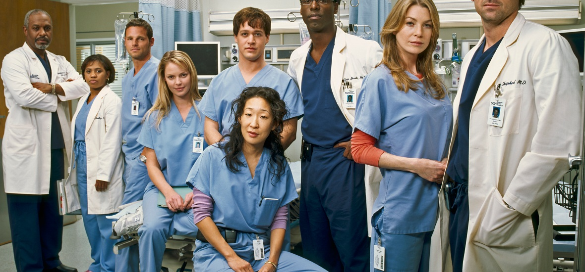 grey's anatomy cast getty images