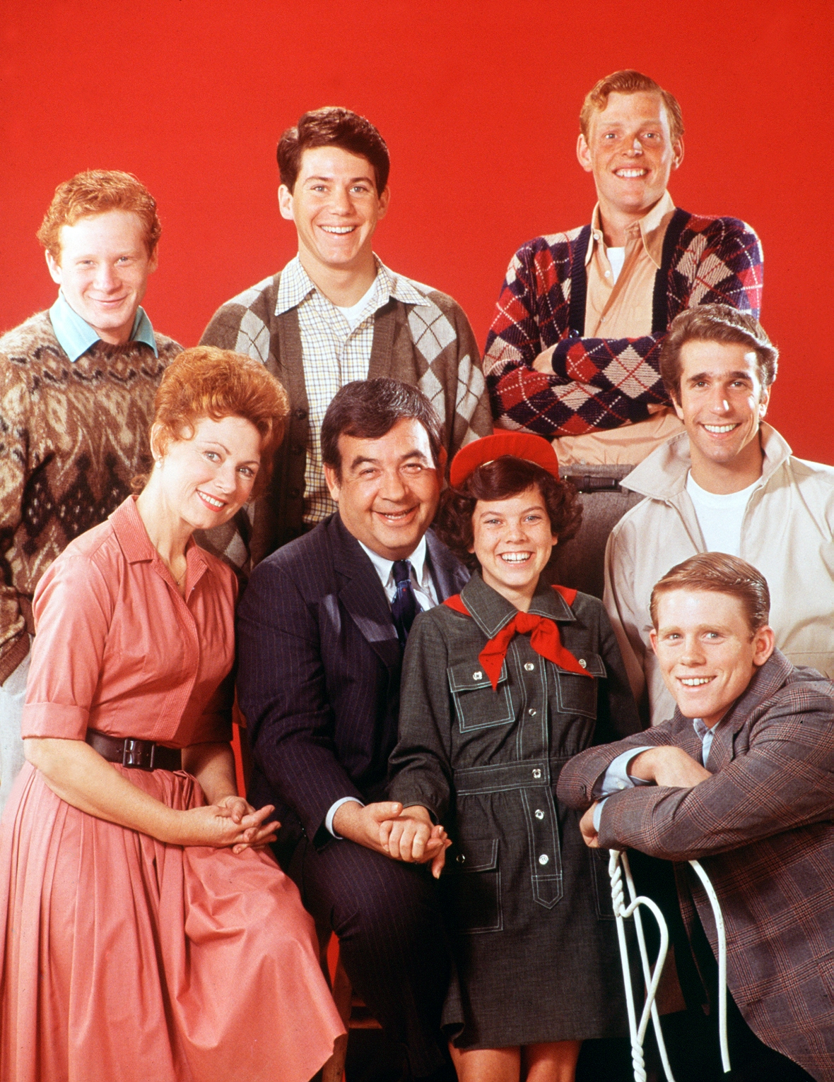 'happy days' cast getty images