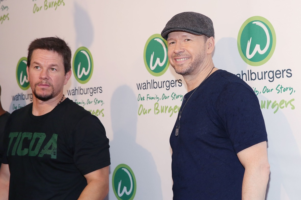 mark and donnie wahlberg getty