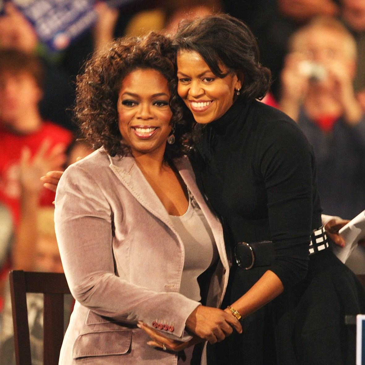 oprah winfrey obamas getty images