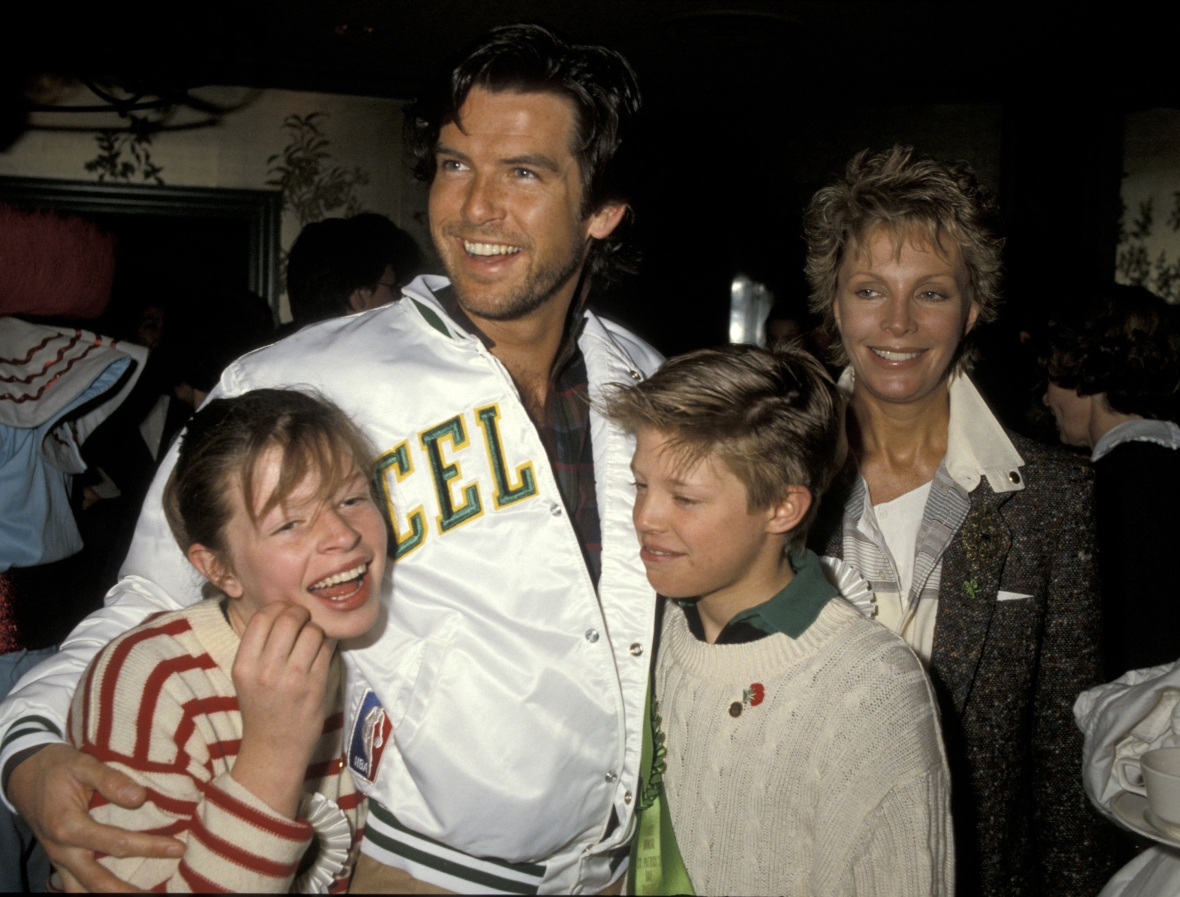 pierce brosnan family