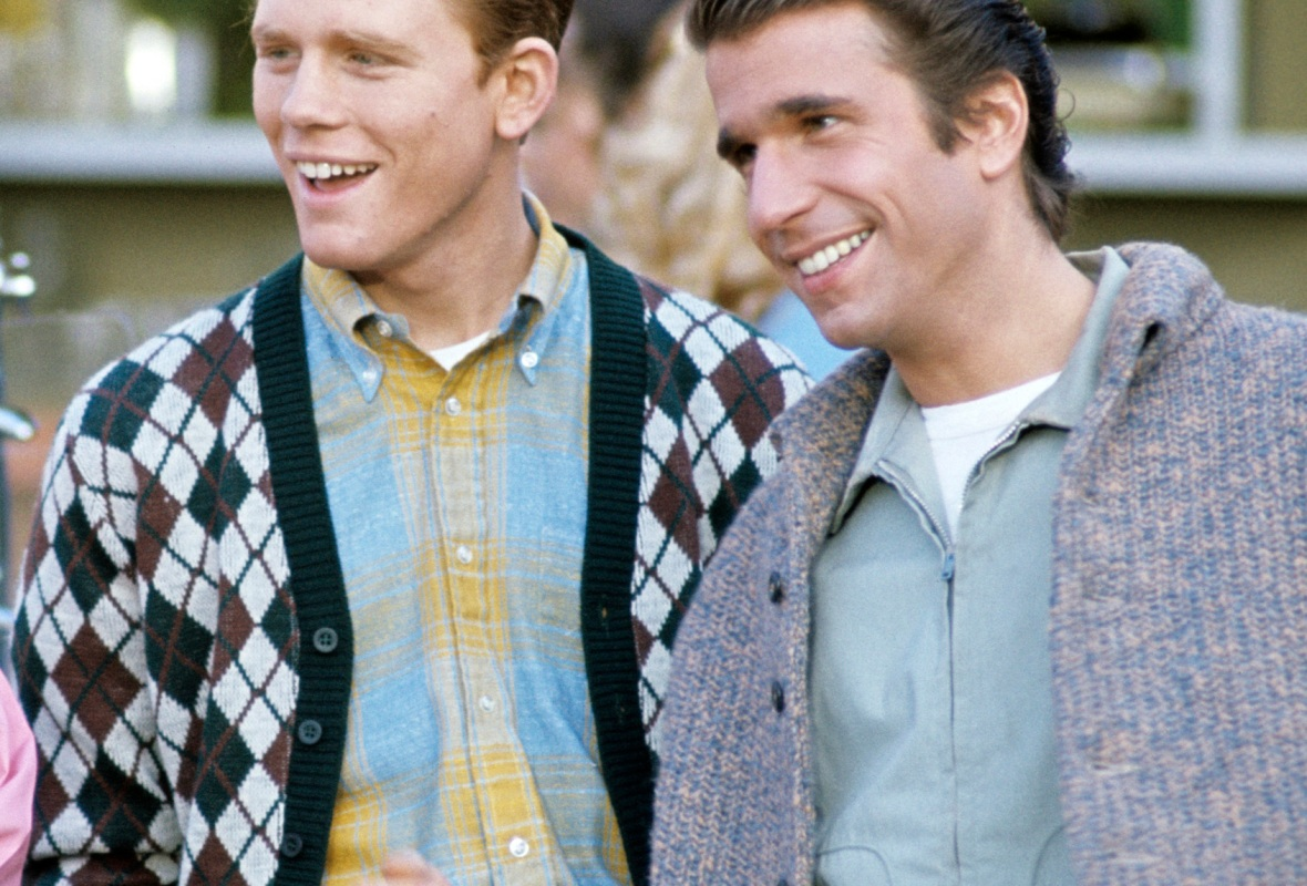 ron howard henry winkler 'happy days' getty images
