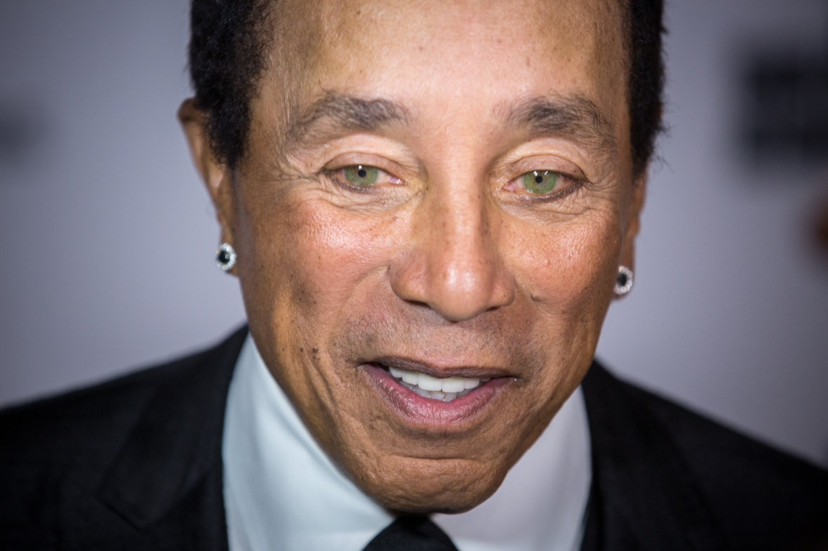 smokey robinson getty images