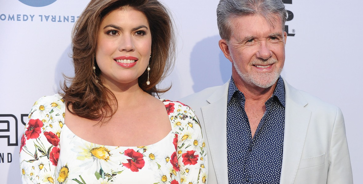 alan thicke wife getty images