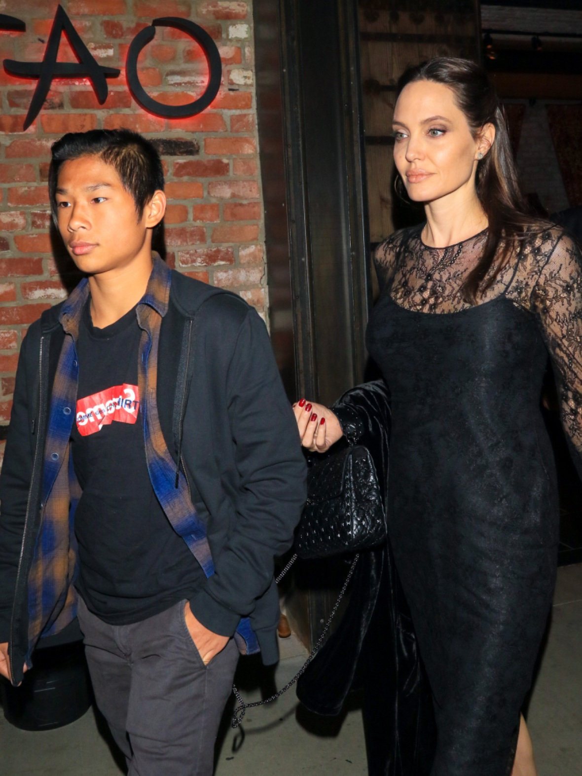 angelina jolie son pax getty images
