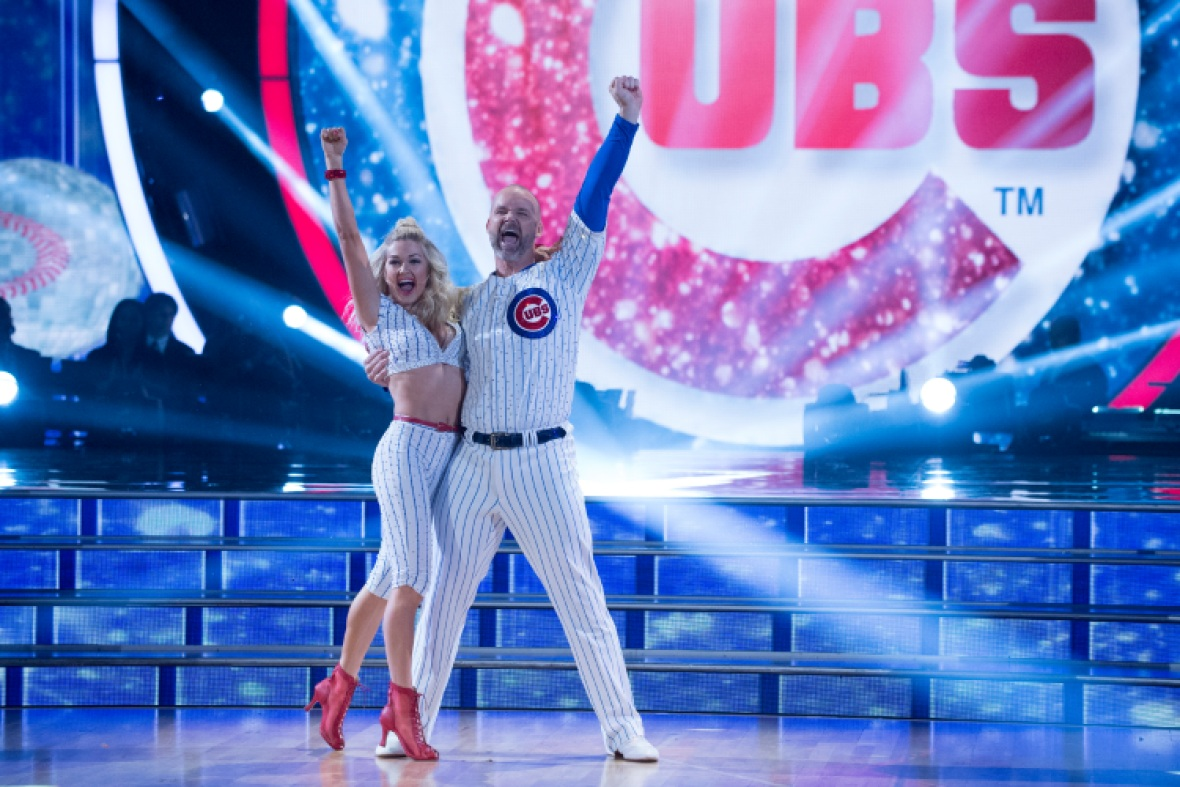 david ross lindsay arnold dwts getty