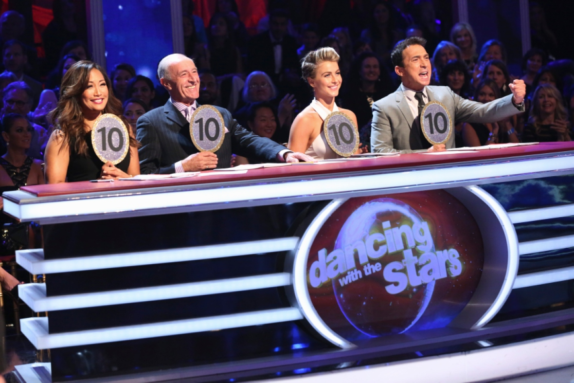 'dancing with the stars' judges getty images