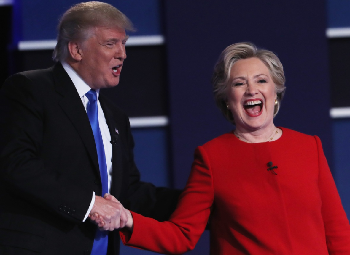 hillary clinton donald trump getty images
