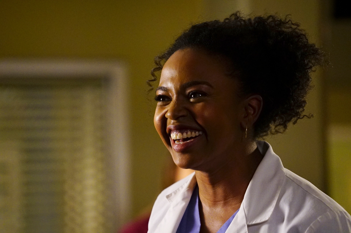 jerrika hinton 'grey's anatomy' getty images